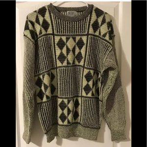 Vintage Nicolas Allen 80s medium sweater